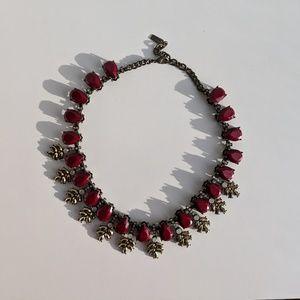 BaubleBar Crystal Wreath Necklace